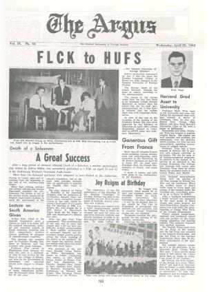 Argus Vol.Ⅸ No.46(Apr. 25. 1962)