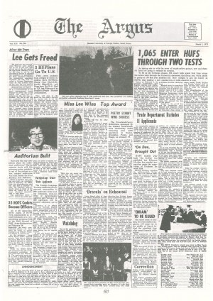 Argus Vol.XXI No.161(Mar. 01. 1975)