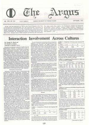 Argus Vol.XXX No.224(Sept. 01. 1983)