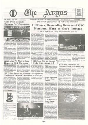 Argus Vol.ⅩⅩⅩⅤΙ No.272(Sept. 01. 1990)