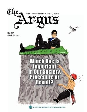 Argus No.447 (Jun. 11. 2012)